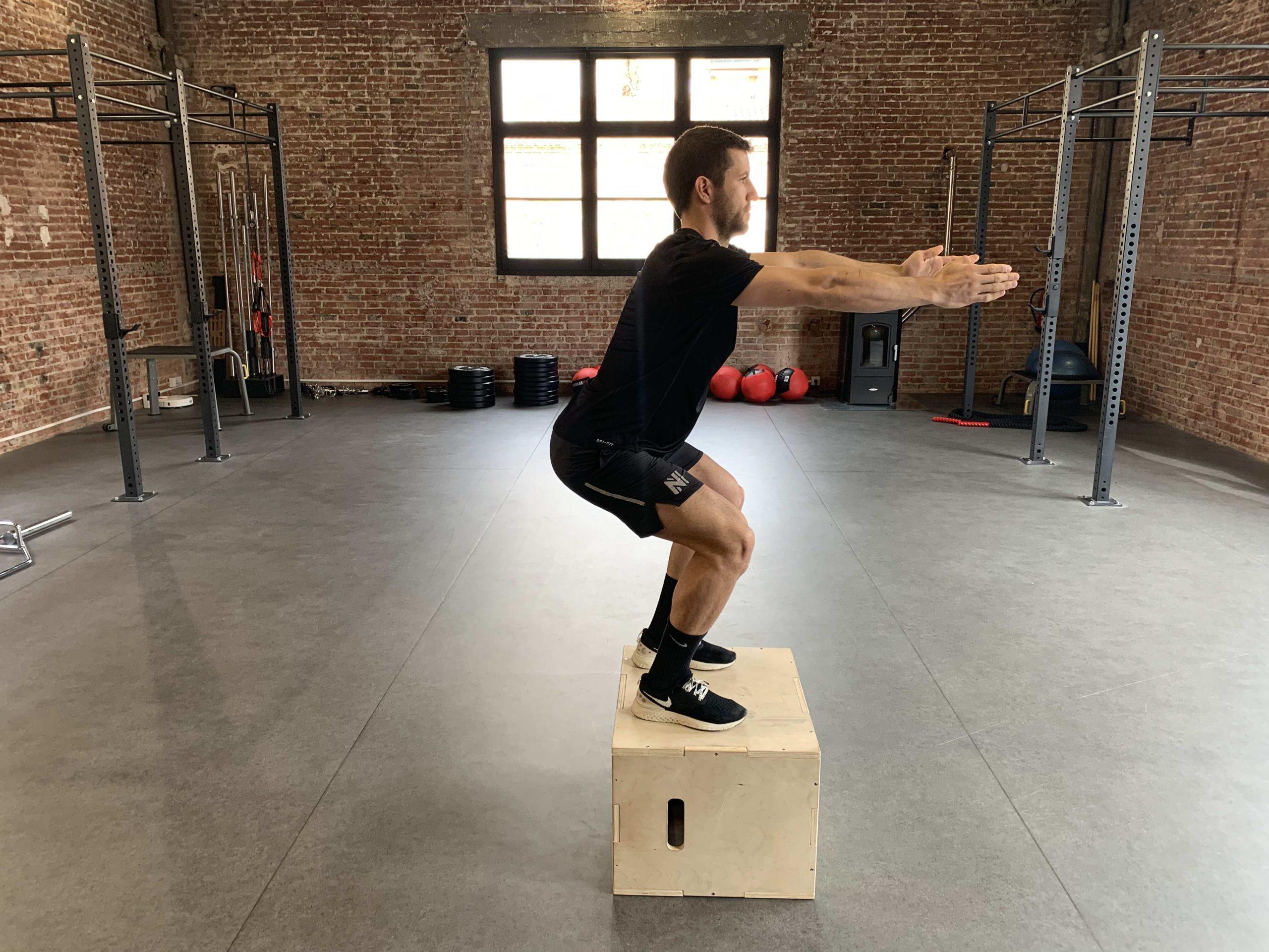 BOX JUMP Centre Entrenament i Fisioterapia Terrassa
